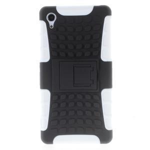 Outdoor odolný kryt pre mobil Sony Xperia Z2 - biely - 2