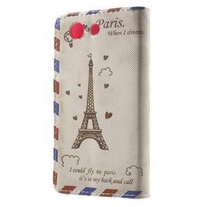Pictu Peňaženkové puzdro pre Sony Xperia Z3 Compact - Eiffelova veža - 2