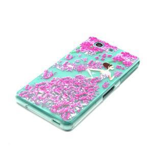 Gelový obal na mobil Sony Xperia Z3 Compact - motýlí dívka - 2