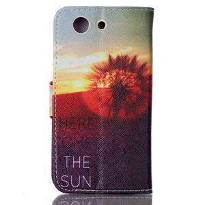 Emotive knížkové pouzdro na Sony Xperia Z3 Compact - východ slunce - 2