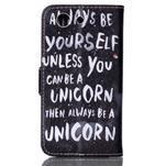 Emotive knížkové pouzdro na Sony Xperia Z3 Compact - unicorn - 2/6