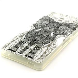 Softy gelový obal na Sony Xperia Z3 Compact - slon - 2