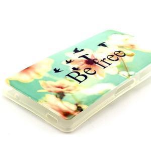 Softy gélový obal pre Sony Xperia Z3 Compact - be free - 2