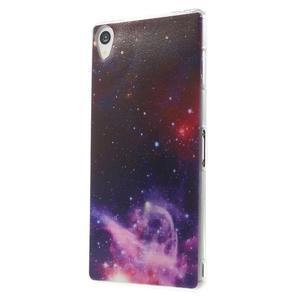 Ultratenký gélový obal pre mobil Sony Xperia Z3 - galaxie - 2
