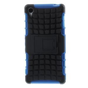 Outdoor ochranný kryt na mobil Sony Xperia Z3 - modrý - 2