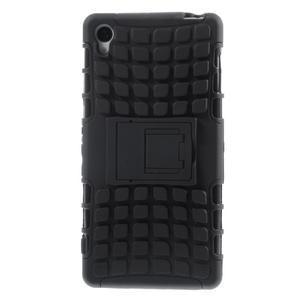Outdoor ochranný kryt pre mobil Sony Xperia Z3 - čierny - 2