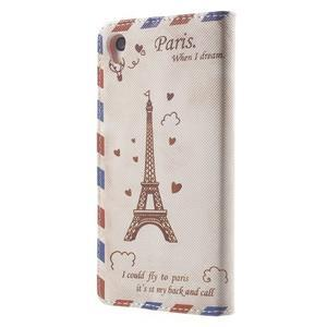 Emotive Peňaženkové puzdro pre Sony Xperia Z3 - Eiffelova veža - 2