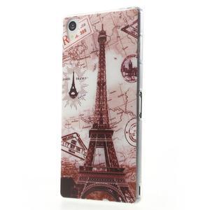 Ultratenký gélový obal pre mobil Sony Xperia Z3 - Eiffelova veža - 2