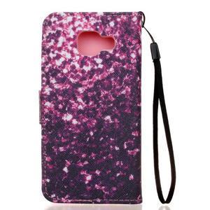 Leat peňaženkové puzdro pre Samsung Galaxy A3 (2016) - surface - 2