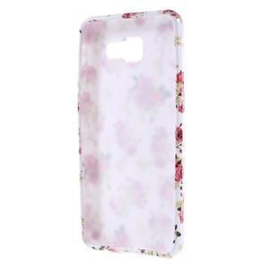 Gelový obal pro Samsung Galaxy A3 (2016) - květiny - 2