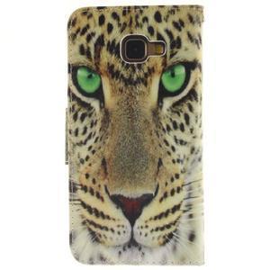 Patt peňaženkové puzdro pre Samsung Galaxy A3 (2016) - leopard - 2