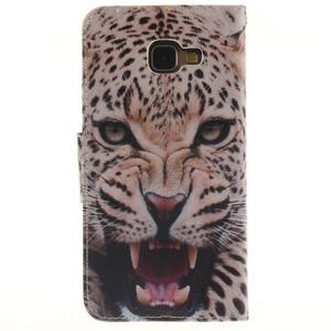 Patt peňaženkové puzdro pre Samsung Galaxy A3 (2016) - leopard se zoubky - 2