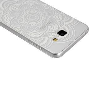 Ultratenký slim obal pre mobil Samsung Galaxy A3 (2016) - bílá mandala - 2