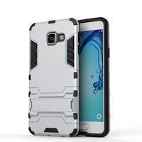 Outdoor odolný kryt pre mobil Samsung Galaxy A3 (2016) - strieborny - 2/2