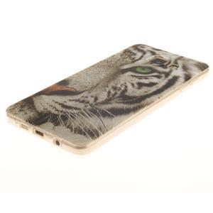 Silk gelový kryt na mobil Samsung Galaxy A3 (2016) - bílý tygr - 2