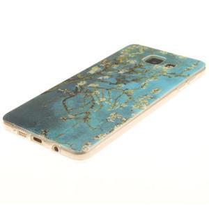 Silk gelový kryt na mobil Samsung Galaxy A3 (2016) - rozkvetlý strom - 2