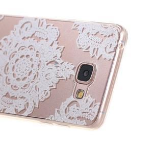 Miffs ultratenký gélový obal pre Samsung Galaxy A3 (2016) - krajka III - 2