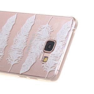 Miffs ultratenký gélový obal pre Samsung Galaxy A3 (2016) - pierka - 2