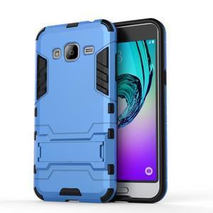 Outdoor odolný obal na Samsung Galaxy J3 - světlemodré - 2