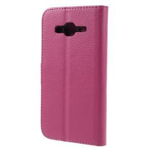 Peněženkové pouzdro na mobil Samsung Galaxy J3  (2016) - rose - 2