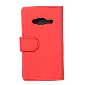 Wall peněženkové pouzdro na Samsung Galaxy Trend 2 Lite - červené - 2