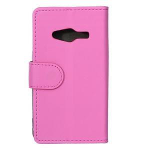 Wall peněženkové pouzdro na Samsung Galaxy Trend 2 Lite - rose - 2