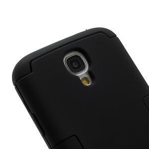 Extreme odolný gélový obal 2v1 pre Samsung Galaxy S4 - čierný - 2