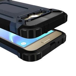 Armory odolný obal pre mobil Samsung Galaxy J1 (2016) - tmavomodrý - 2