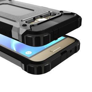 Armory odolný obal pre mobil Samsung Galaxy J1 (2016) - šedý - 2