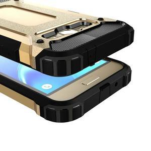Armory odolný obal pre mobil Samsung Galaxy J1 (2016) - zlatý - 2