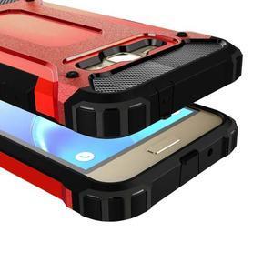 Armory odolný obal na mobil Samsung Galaxy J1 (2016) - červený - 2