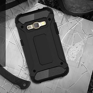 Armory odolný obal pre mobil Samsung Galaxy J1 (2016) - čierný - 2
