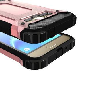 Armory odolný obal pre mobil Samsung Galaxy J1 (2016) - ružovozlatý - 2