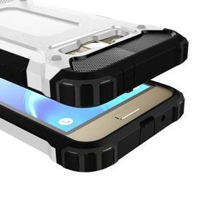 Armory odolný obal pre mobil Samsung Galaxy J1 (2016) - biely - 2