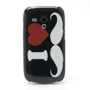 Plastový obal na Samsung Galaxy S3 mini - I love Moustache - 2