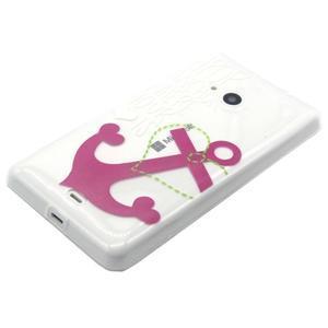 Gélový obal na mobil Microsoft Lumia 535 - kotva - 2