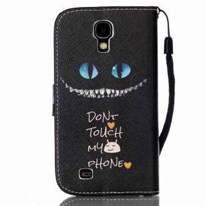 Peněženkové pouzdro na Samsung Galaxy S4 Mini - do not touch - 2