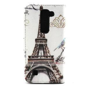 Peneženkové puzdro na mobil LG G4c - Eiffelova veža - 2