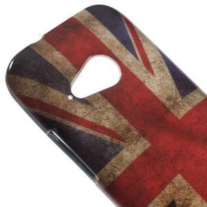 Gélový kryt pre HTC One mini 2 - UK vlajka - 2