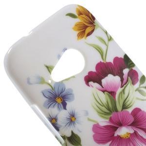 Gélový kryt na HTC One mini 2 - květiny - 2