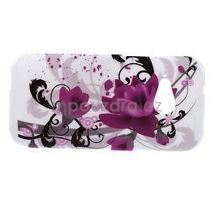 Gélový kryt pre HTC One mini 2 - lotusový kvet - 2