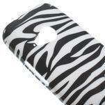 Gélový kryt pre HTC One mini 2 - zebra - 2/5
