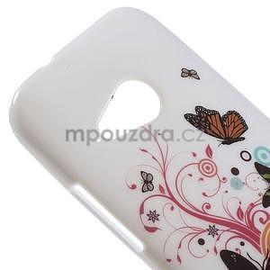 Gélový kryt na HTC One mini 2 - motýlkové - 2