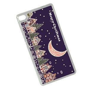 Vianočné edice gélových obalov na Huawei Ascend P8 - vianočná noc - 2