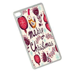 Vánoční edice gélových obalů na Huawei Ascend P8 - Merry Christmas - 2