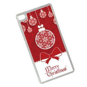 Vianočné edice gélových obalov na Huawei Ascend P8 - Vesalé Vianoce - 2
