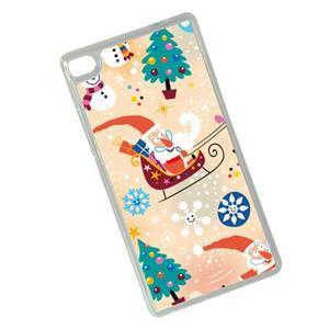 Vánoční edice gélových obalů na Huawei Ascend P8 - Santa - 2