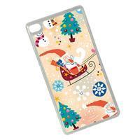 Vánoční edice gélových obalů na Huawei Ascend P8 - Santa - 2/2