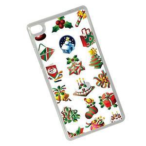 Vianočné edice gélových obalov na Huawei Ascend P8 - Vianoce - 2