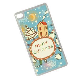 Vánoční edice gélových obalů na Huawei Ascend P8 - Christmas - 2